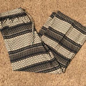 A&E satin type pants